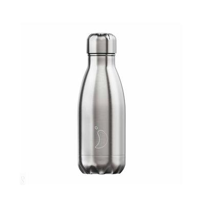 Chilly's 260ml Stainless Steel Water Bottle