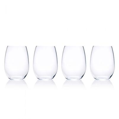 Mikasa Julie Set of 4 Stemless Wine Glasses