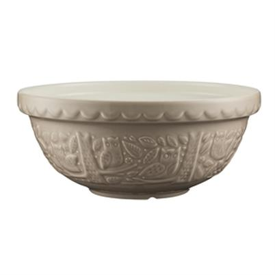 Mason Cash In The Forest 26cm Owl Stone Mixing Bowl