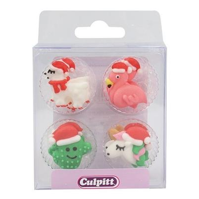 Culpitt Sugar Piping Unicorn Friends 12pc