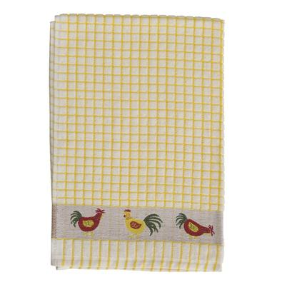 Samuel Lamont Poli Dri Tea Towel Yellow Hen