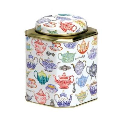 Elite Tea Caddy with Dome Lid Teapots