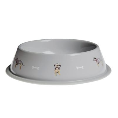 Sophie Allport Terrier Dog Bowl Small
