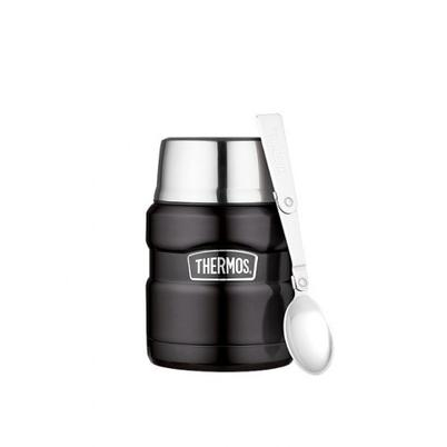 Thermos Stainless King Food Flask 470ml Black