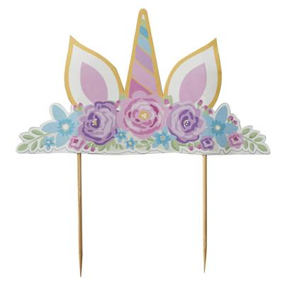Mason Cash Unicorn Ears Cake Topper