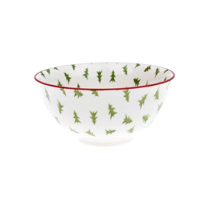 Sophie Allport Christmas Trees Nibbles Bowl