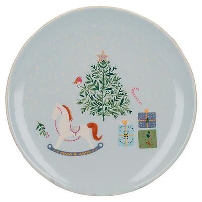 KitchenCraft The Nutcracker Collection Christmas Tree Canape Plate