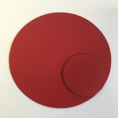UnderCover Recycled Leather Coaster Poppy