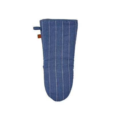 Ulster Weavers 1880 Linen Gauntlet Blue Stripe