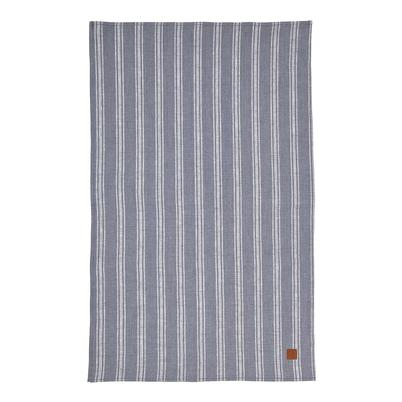 Ulster Weavers 1880 Linen Tea Towel Grey Stripe