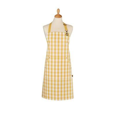 Ulster Weavers Cotton Apron Gingham Yellow