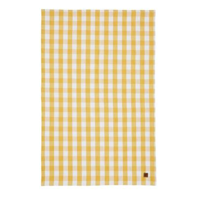Ulster Weavers Cotton Tea Towel Gingham Yellow