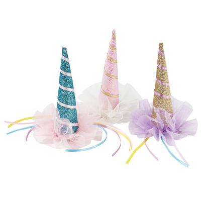 Talking Tables We Heart Unicorns Sparkly Horn Party Hat