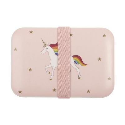 Sophie Allport Unicorn Kid's Bamboo Lunch Box