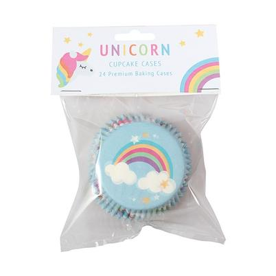 Baked With Love 24 Foil Lined Unicorn Baking Cases