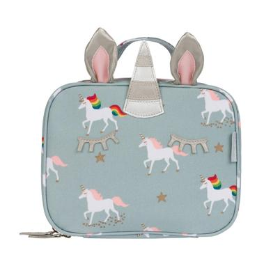 Sophie Allport Unicorn Oilcloth Kids Lunch Bag