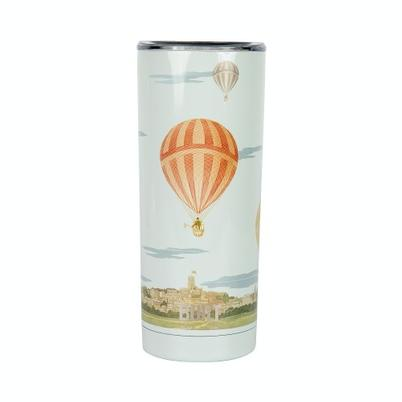 Built V&A 590ml Stainless Steel Travel Mug Hot Air Balloon