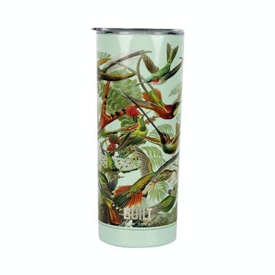 Built V&A 590ml Stainless Steel Travel Mug Hummingbird