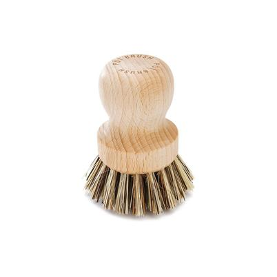 Pot Brush with Plant Fibre Bristles