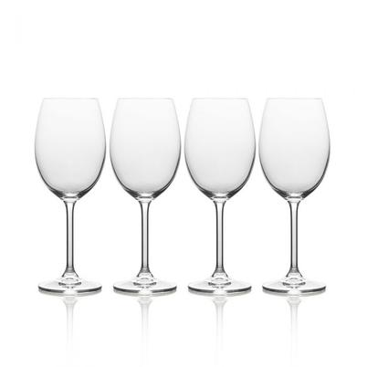 Mikasa Julie Set of 4 White Wine Glasses