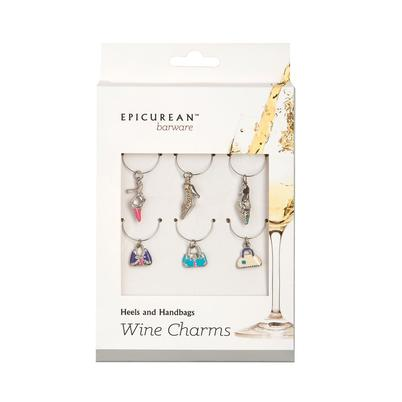 Epicurean Wine Charms Heels & Handbags