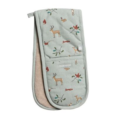 Sophie Allport Woodland National Trust Double Oven Glove