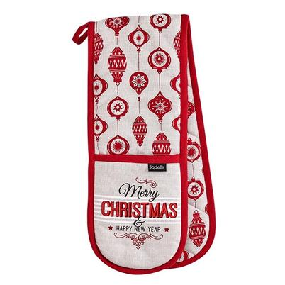 Ladelle Merry Christmas Double Oven Glove