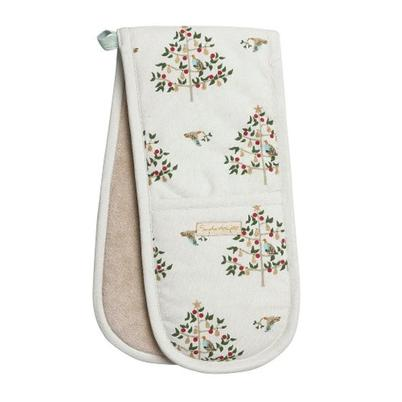 Sophie Allport Partridge Double Oven Glove