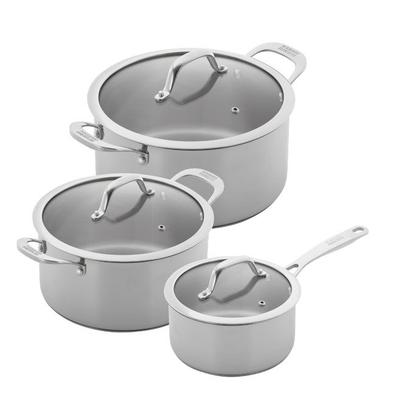 Kuhn Rikon Allround 3pc Saucepan & Casserole Set