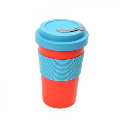Dexam BamBroo Drinks Mug 400ml - Scarlet
