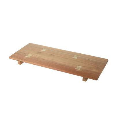 Parlane Long Wooden Chopping Board with Feet 50x650mm