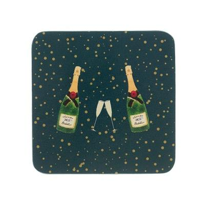 Sophie Allport Bubbles & Fizz Coasters Set of 4
