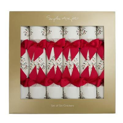 Sophie Allport Partridge Christmas Crackers Set of 6