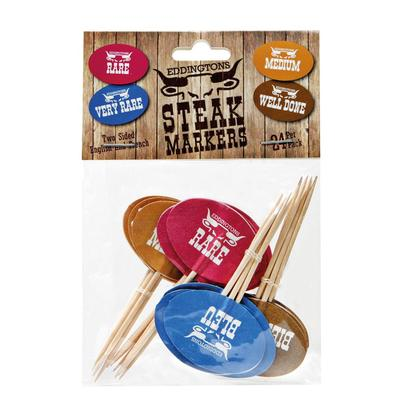 Eddingtons Steak Markers pack of 24