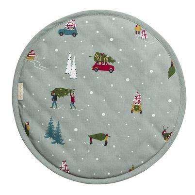 Sophie Allport Home For Christmas Circular Hob Cover