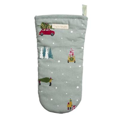 Sophie Allport Home For Christmas Oven Mitt
