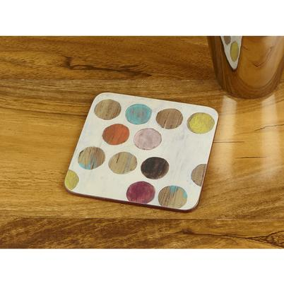 """30 x Creative Tops /""""Retro Spot/"""" Premium 6-Piece Set of Cork-Backed Placemats by"""